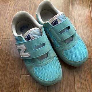 ニューバランス(New Balance)のニューバランス  スニーカー 靴 キッズ 子供 19.5(スニーカー)
