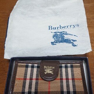 バーバリー(BURBERRY)の新品☆BURBERRYノバチェックキーケース(キーケース)