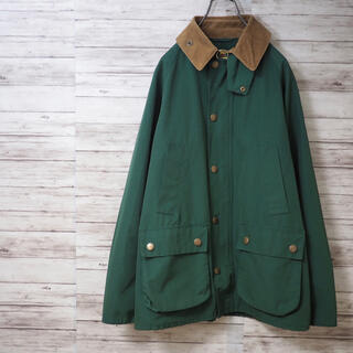 Barbour - BARBOUR 15SS BEAMS別注 BEDALE SL NON WAX