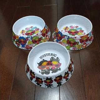 ヒステリックミニ(HYSTERIC MINI)のヒステリックミニ ノベルティ 皿 ボウル 3点セット(食器)