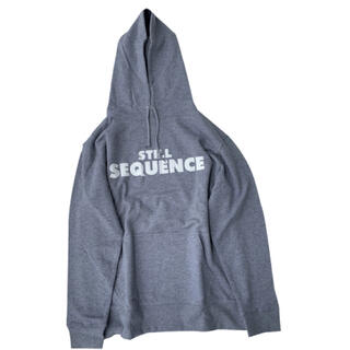 新品未開封 TRANSPORT still sequence HOODIE L
