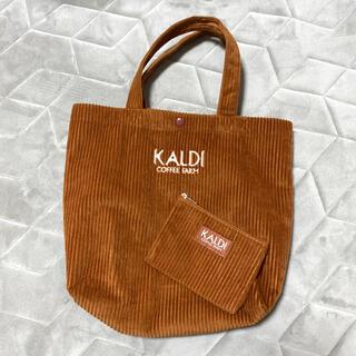 カルディ(KALDI)のKALDI カルディ トートバッグ ミニポーチ セット(トートバッグ)