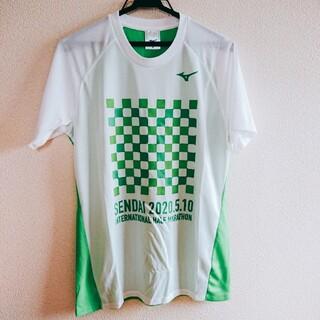 ミズノ(MIZUNO)の2020仙台ハーフマラソン参加賞Tシャツ ミズノ(タオル/バス用品)