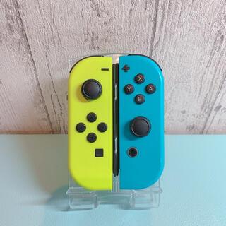 Nintendo Switch - 美品 人気カラー ブルー イエロー Switch 左右セット ジョイコン