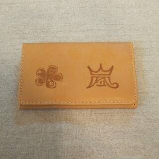 アラシ(嵐)の【 カードケース 】 リメイクハンドメイド(キーケース/名刺入れ)