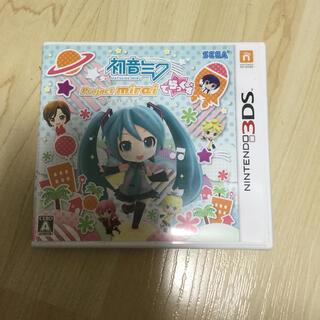 セガ(SEGA)の初音ミク Project mirai でらっくす 3DS(携帯用ゲームソフト)