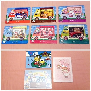 Nintendo Switch - 新品 サンリオ どうぶつの森 amiiboカード あつ森 任天堂 Switch
