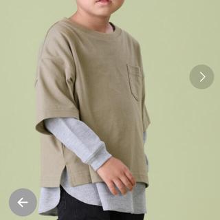 フリークスストア(FREAK'S STORE)のフリークスストア サーマルレイヤードTシャツ 120.130(Tシャツ/カットソー)
