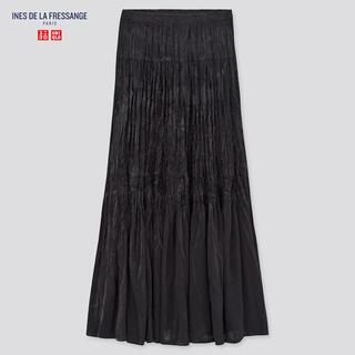 UNIQLO - ツイストプリーツロングスカート ロングスカート