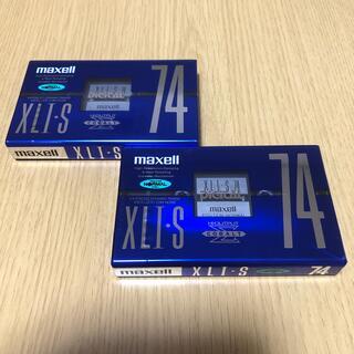 マクセル(maxell)のmaxell ノーマルポジション 74分×2本(その他)