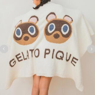 gelato pique - 【gelato pique】ベビモコつぶまめジャガードブランケットA