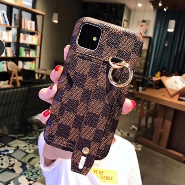 iPhone(アイフォーン)の《大人気》iPhone7/8 plus ケース iPhone 格子柄 XS  スマホ/家電/カメラのスマホアクセサリー(iPhoneケース)の商品写真