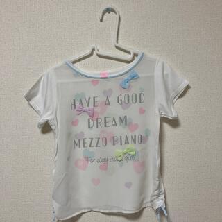 mezzo piano - メゾピアノ  半袖Tシャツ  S(140cm)