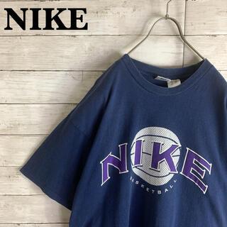 NIKE - 希少 古着 90s ナイキ NIKE 半袖 Tシャツ 両面プリント 銀タグ