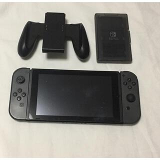 Nintendo Switch - Nintendo Switch ニンテンドースイッチ グレー 本体 ジャンク