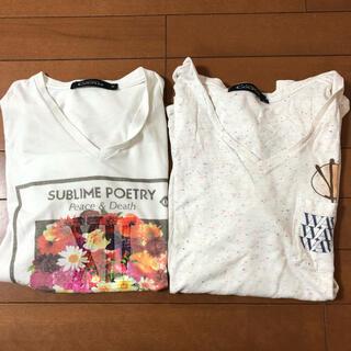 ローズバッド(ROSE BUD)のローズバッド  半袖Tシャツ M(Tシャツ/カットソー(半袖/袖なし))