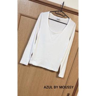 アズールバイマウジー(AZUL by moussy)のAZUL by moussy トップス(Tシャツ(長袖/七分))