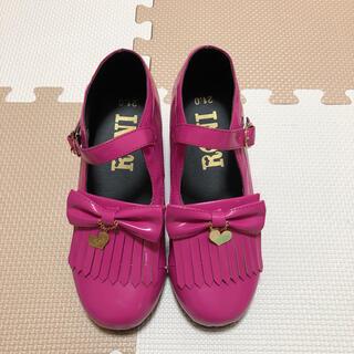ロニィ(RONI)のRONI  靴  21㎝   新品小傷あり(ローファー)