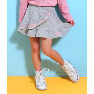 アナップキッズ(ANAP Kids)の☆ANAPKIDS ハートラッフルスカート(スカート)