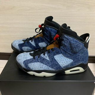 NIKE - Nike air jordan6 denim 29cm
