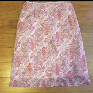 最終お値下げ!膝下約12cm上品スカート美品