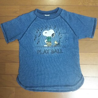 BREEZE - BREEZE スヌーピー コラボ Tシャツ 140