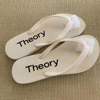 theory - セオリー ビーチサンダル 24センチ 新品未使用