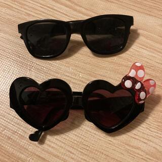 ディズニー(Disney)のベビー キッズ  サングラス ディズニー ミニー JAL  黒(サングラス)