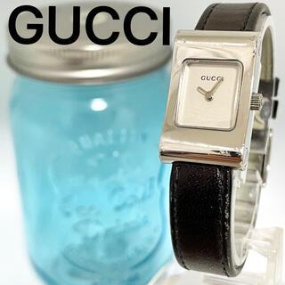Gucci - 27 GUCCI グッチ時計 レディース腕時計 スクエア ブラック 人気