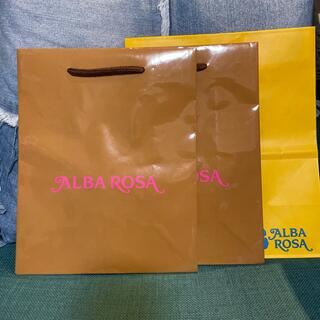 アルバローザ(ALBA ROSA)のアルバローザ☆ショップ袋(ショップ袋)
