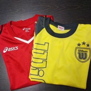 asics - asics・Wilson半袖Tシャツ2枚セットサイズ:140