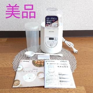 アイリスオーヤマ - アイリスオーヤマ ヨーグルトメーカー プレミアム温度調節機能付き IYM-012