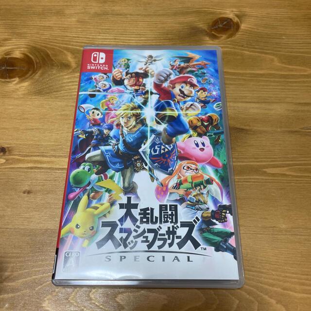 Nintendo Switch(ニンテンドースイッチ)の大乱闘スマッシュブラザーズ SPECIAL Switch エンタメ/ホビーのゲームソフト/ゲーム機本体(家庭用ゲームソフト)の商品写真