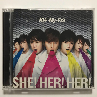 Kis-My-Ft2 - [CDシングル] SHE!HER!HER! ☆Kis-My-Ft2