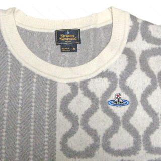 ヴィヴィアンウエストウッド(Vivienne Westwood)のVivienne Westwood MAN モヘア混 スクイグル セーターニット(ニット/セーター)