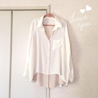アーバンリサーチ(URBAN RESEARCH)のレイヤードシャツ♡(シャツ/ブラウス(長袖/七分))