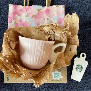 Starbucks Coffee - スターバックス  マグ SAKURA2021マグ バタフライハンドル296ml
