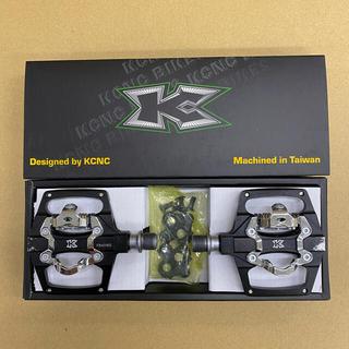 KCNC クリップレス プラットフォームペダル シマノSPD