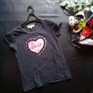 バービー(Barbie)のバービー♡ロゴいりTシャツ(Tシャツ(半袖/袖なし))