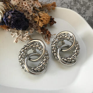 ZARA - SALE!circles earrings-silver-