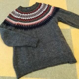 バックナンバー(BACK NUMBER)のBACK NUMBER セーター チャコール バックナンバー メンズ ウール(ニット/セーター)