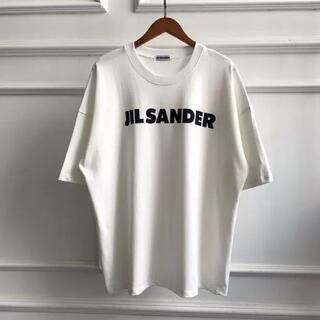 Jil Sander - JIL SANDER ロゴ プリント コットン Tシャツ