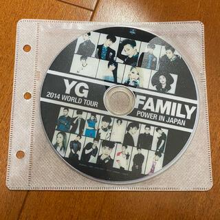 ビッグバン(BIGBANG)のYG FAMILY 2014 POWER IN JAPAN DVD 韓流ショップ(ミュージック)