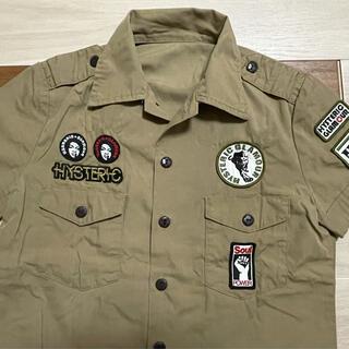 ヒステリックグラマー(HYSTERIC GLAMOUR)のヒステリックグラマー  ミリタリーシャツ(シャツ/ブラウス(半袖/袖なし))