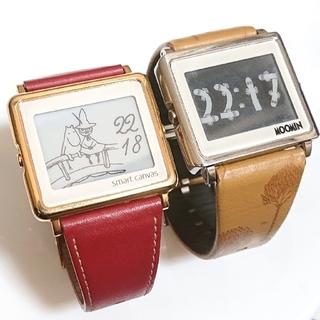 EPSON - EPSON❇️ムーミン デジタル腕時計 2点セット   スマートキャンバス