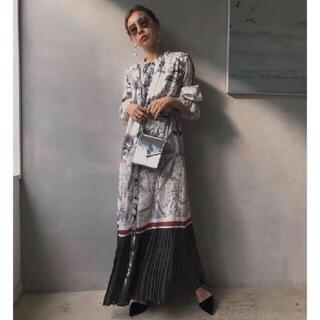 Ameri VINTAGE - ameri UNDRESSED CRUISE SCARF DRESS