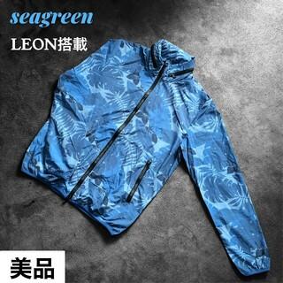 ロンハーマン(Ron Herman)のSeagreen シーグリーン 花柄 flower jacketジャケット(ナイロンジャケット)