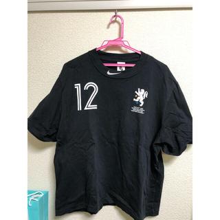 ナイキ(NIKE)のNIKE OFF-WHITE 18SS ブラック Sサイズ (Tシャツ/カットソー(半袖/袖なし))