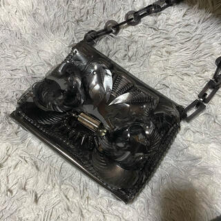 mame - mame kurogouchi PVC bag (black)