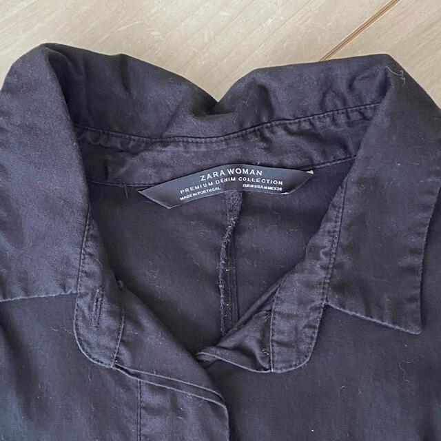 ZARA(ザラ)のZARA ティアードシャツ ワンピ チュニック ザラ レディースのワンピース(ひざ丈ワンピース)の商品写真